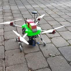 20190709_205408.jpg Télécharger fichier STL gratuit Drone - Quadrocoptère • Plan pour imprimante 3D, Der_Stihl