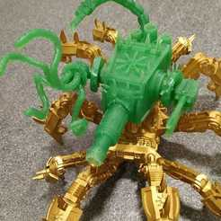 Imprimir en 3D gratis Profilador del caos de los escorpiones, Sumbu
