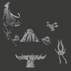 Descargar modelos 3D gratis Partes de un todo es polvo sin nombre Hechicero, Sumbu