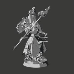 Descargar Modelos 3D para imprimir gratis Todo es polvo Exaltado Hechicero de Tzeentch, Sumbu