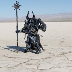 Download free 3D model All Is Dust Sorcerer Trainee, Sumbu