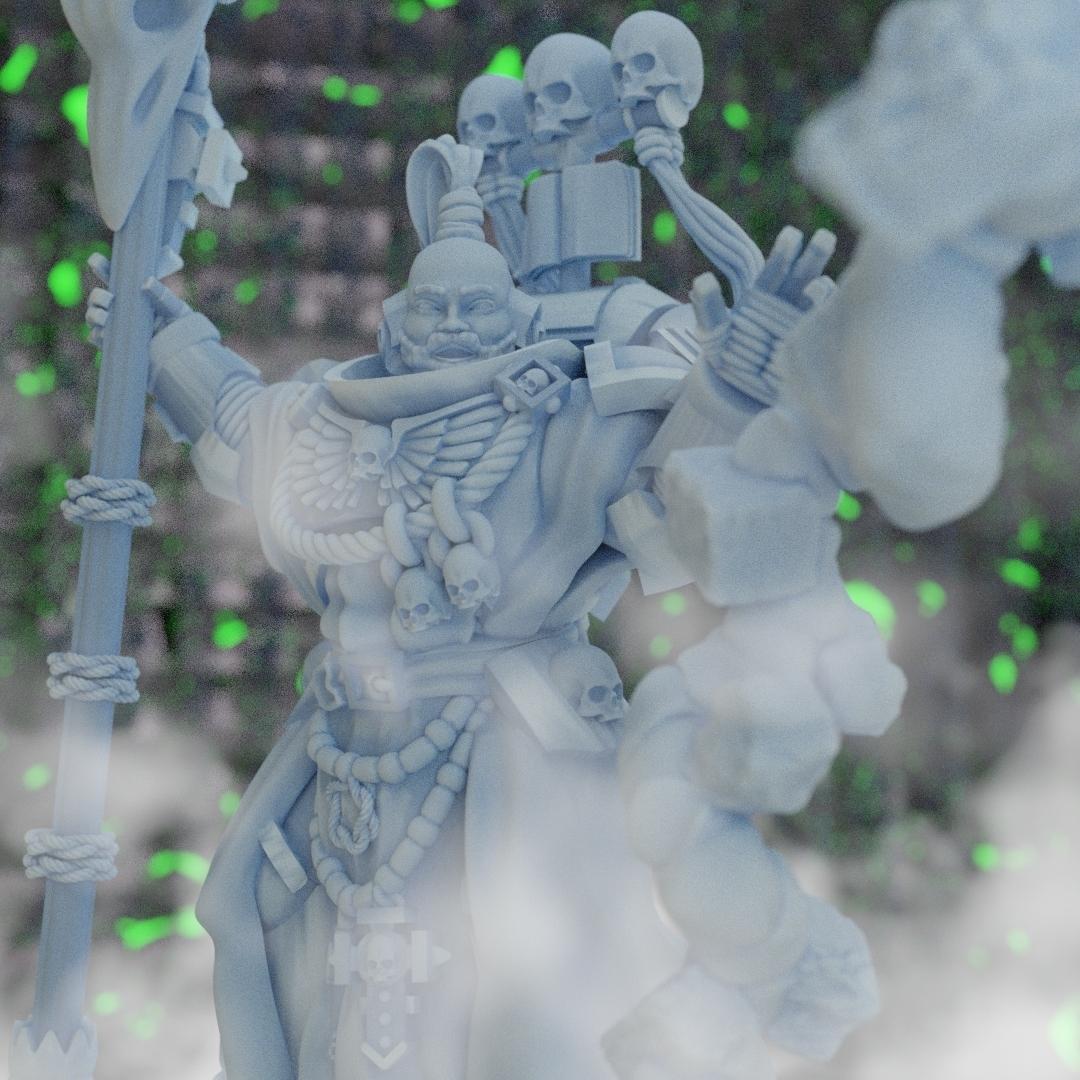 Librarian.jpg Download STL file Shiro, The Stormseer • 3D printable object, Sumbu