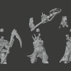 Descargar modelo 3D gratis Parte de la repugnante y resistente guardaespaldas Terminator, Sumbu