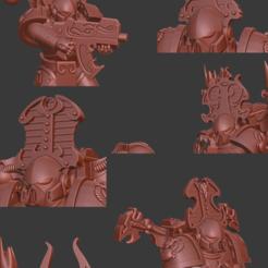 Descargar modelos 3D gratis Todo es polvo de cabezas, Sumbu
