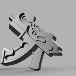 Descargar modelos 3D gratis All Is Dust Inferno Bolter, Sumbu