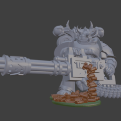 Bildschirmfoto_2020-06-02_um_09.34.12.png Download free STL file Gun Shell decoration for your Traitor Space Marine Havocs • 3D printer model, Sumbu