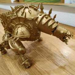 Descargar archivo 3D gratis Smithy Daemon del Caos, Sumbu