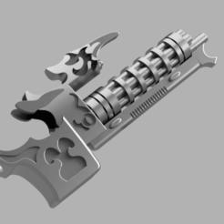 Descargar archivos 3D gratis Todo es polvo Soulreapercannon, Sumbu
