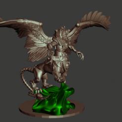 Descargar archivos 3D gratis Príncipe Demonio / Necrosfinge de Tzeentch - Mil Hijos - Todo es polvo, Sumbu