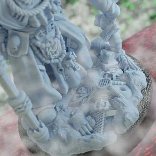 Psyker3.jpg Download STL file Shiro, The Stormseer • 3D printable object, Sumbu