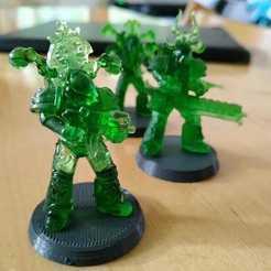 Descargar modelo 3D gratis Todo es Dust Marine - Builder, Sumbu