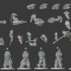 Bildschirmfoto_2020-03-17_um_11.36.11.png Download free STL file Part of a Disgusting Resilient Terminator Lord Builder • Template to 3D print, Sumbu