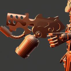 Download free 3D printer designs All is Dust Warpflame pistol, Sumbu