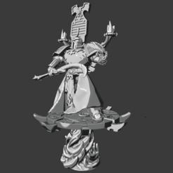 Descargar archivos 3D gratis Todo es Polvo Exaltado Hechicero 2 (en el disco de Tzeentch), Sumbu