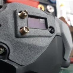 Download 3D printing templates Dji digital fpv rapidfire frontplate, grblmm