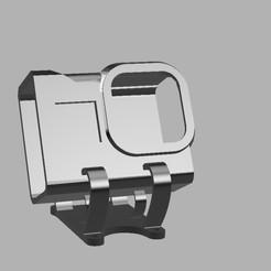 Снимок экрана 2020-04-11 в 12.48.47.jpg Download STL file Universal 30 degree GoPro Hero8 mount • 3D printer object, grblmm