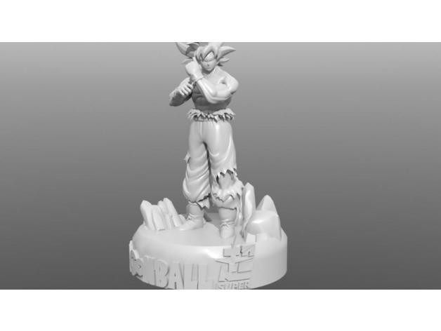 bd5f40c40ab18c3414dba1cb8f1186d9_preview_featured.jpg Télécharger fichier STL gratuit Goku • Design imprimable en 3D, archivosstl3d