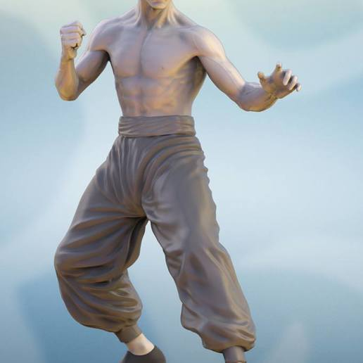 Download free 3D printer designs Bruce Lee, archivosstl3d