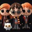 Download free STL file Harry Potter Chibi, archivosstl3d
