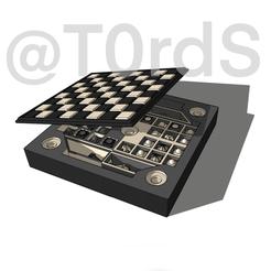 IMG_0653.PNG Download STL file Chess game / Jeu d'échecs • 3D print model, TordS