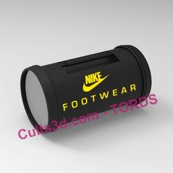 119728511_2779804142239358_1090940130598338785_n.jpg Télécharger fichier STL Nike Footwear bag Back to the Future 1:1 • Design pour impression 3D, TORDS