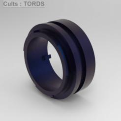 AF-EFS2.png Download STL file Camera Lens Adapter (Minolta AF to EF / EFS) • 3D printable model, TordS