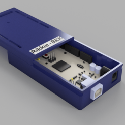 Download 3D printing designs Arduino mega 2560 slide box, rikkieBKK