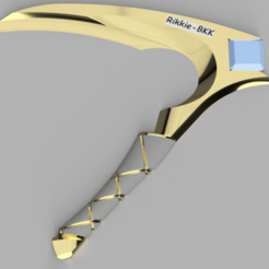 Download 3D printer files Akali Dagger & Sickle Combo save 25% , rikkieBKK