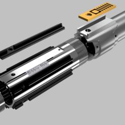 Download STL file Star wars Ros sky-walker light saber  • 3D print template, rikkieBKK