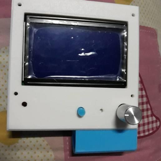 Télécharger STL 12864 vitrine d'exposition am8 Imprimante 3D, rikkieBKK