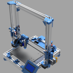 ANET8 - AM8 Undercover 1.png Download STL file Anet_Am8_Undercover_Remastered • 3D printer object, rikkieBKK