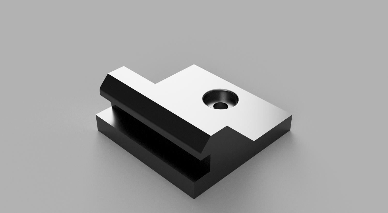 wire mesh bottom lock v1.png Download STL file wire mesh clips + Accessories (UPDATE) • 3D printing model, rikkieBKK