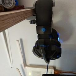 Headphone1.jpg Download STL file Headphone hanger • Design to 3D print, rikkieBKK