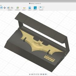 Imprimir en 3D Batarang en Caja, rikkieBKK