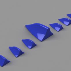 Download STL files Car shark fin + diffuser set, rikkieBKK