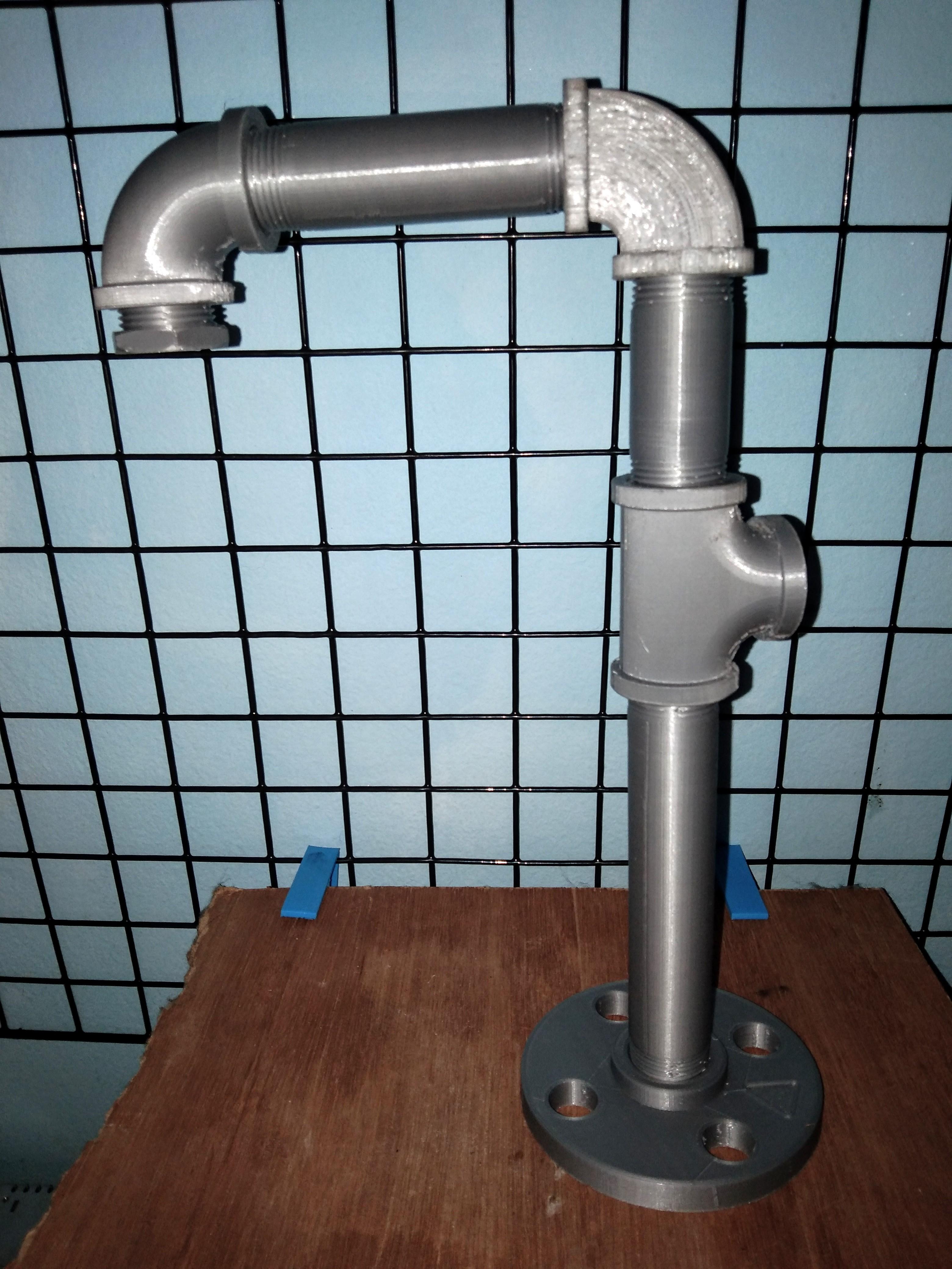 Télécharger fichier STL Steampunk 3/4 pouce tuyau en acier ensemble • Design pour impression 3D, rikkieBKK
