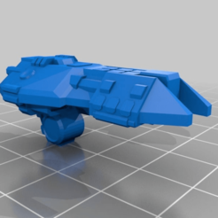 Download free 3D printer templates spaceships, Smight