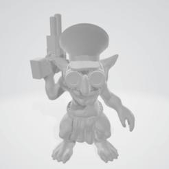 2019-07-26.png Télécharger fichier OBJ gratuit Le chef de Gretchin • Design pour impression 3D, Smight