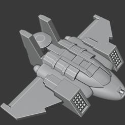 Descargar Modelos 3D para imprimir gratis Rogue Aerospace Fighter, Smight
