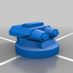 Download free 3D print files turret, Smight
