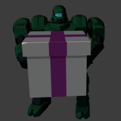 Descargar modelo 3D gratis Mecha en una caja, Smight