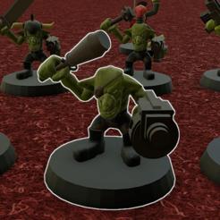Descargar STL gratis ejército de Grechin, Smight