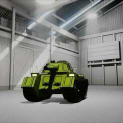 t1.jpg Download free STL file Surgut Light tank • 3D printable design, Smight