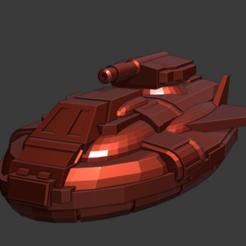 Descargar modelo 3D gratis hovertanque zephyr, Smight