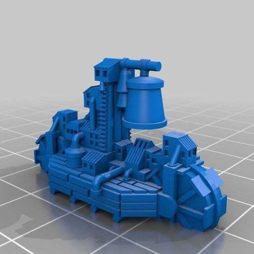 Download free 3D printer files Ratty DoomCaller, barnEbiss2