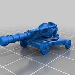 Download free 3D printer templates Ratty Zap Zapp Cannon, barnEbiss2