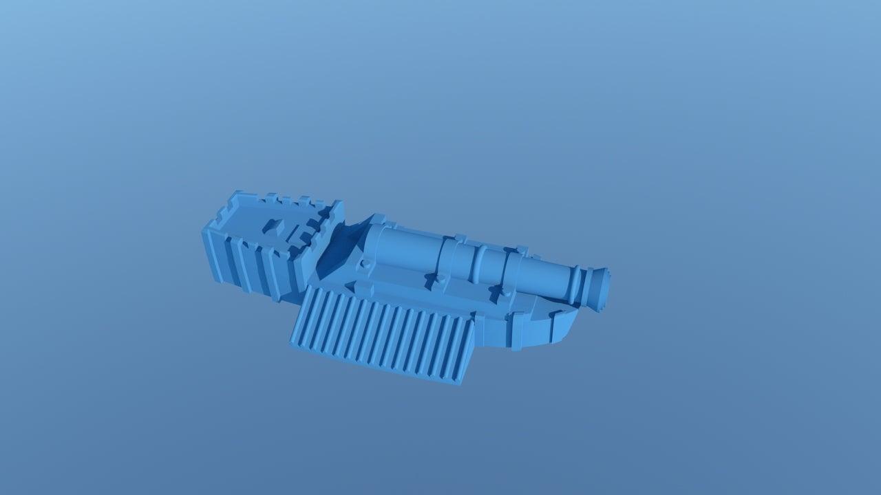 Ironheavenlystrike2.jpg Download free STL file Manthing HeavenlyStrikeBoat • 3D printable object, barnEbiss2