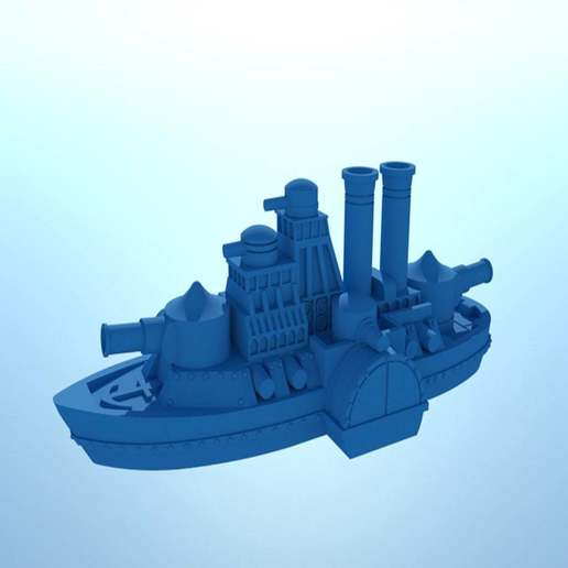 large_display_IronCladFinished2.jpg Download free STL file Updated! Shorty Iron Wave • 3D print model, barnEbiss2