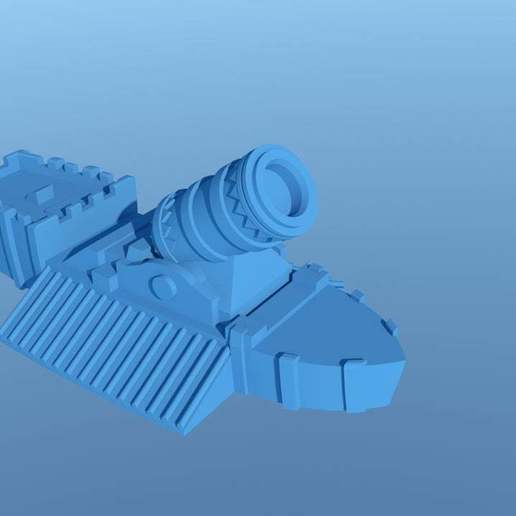 Download free 3D printer designs ManThing IronBigBoomShip, barnEbiss2