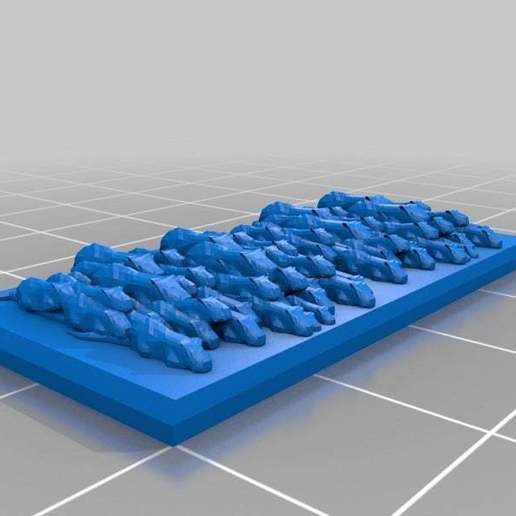 Download free 3D model Ratty Swarm Strand bases, barnEbiss2
